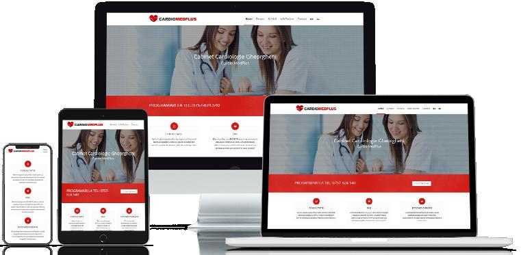 Cardiomed Webdesign Site