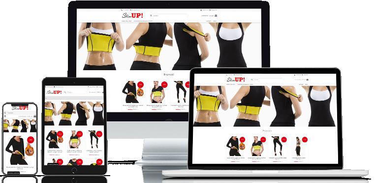 Creare magazin online Slimup