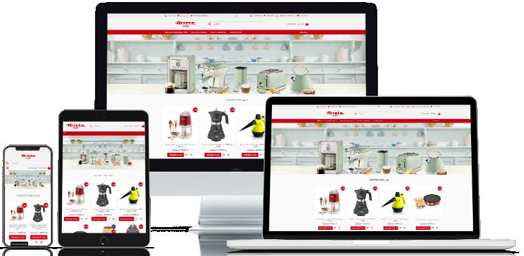 Creare Magazin Online Web ArieteStore