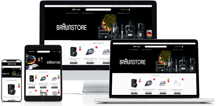 Creare site BraunStore