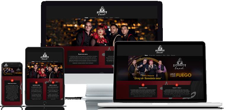 Creare site web Formatia Alternativ