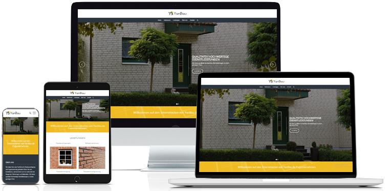 Creare site web Yanbau