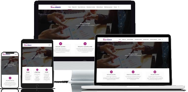 Idas grup web design site web