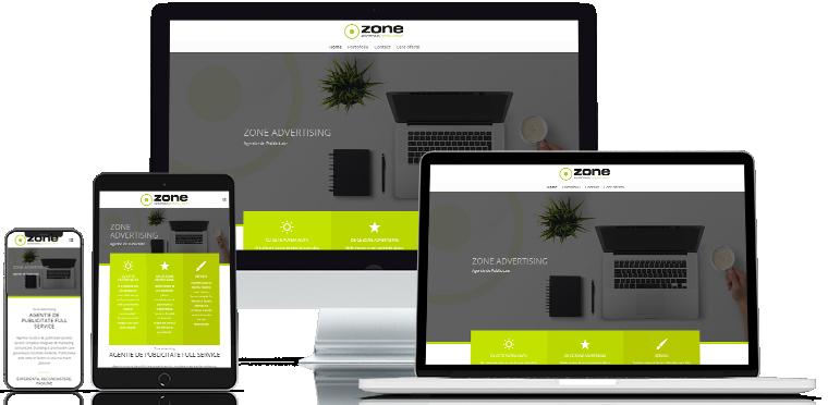 Realizare site web Zonead