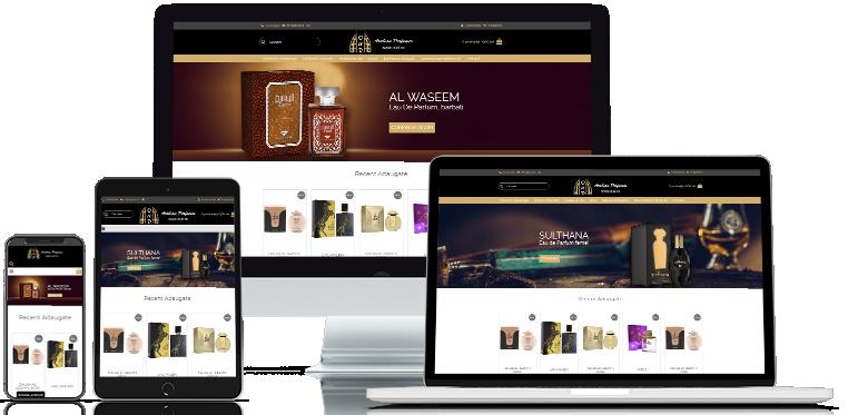 Realizare site web Oud