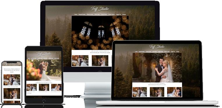 Realizare site web Triff Studio
