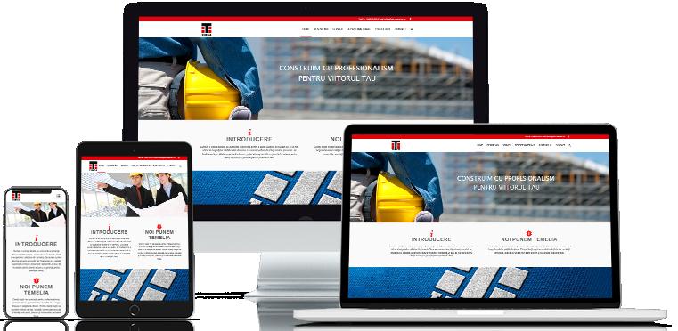 Realizare site webdesign tinca service