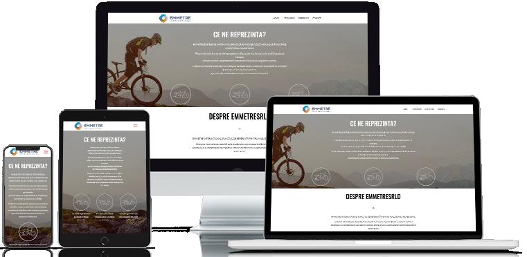 Realizare webdesign emmetrsrld