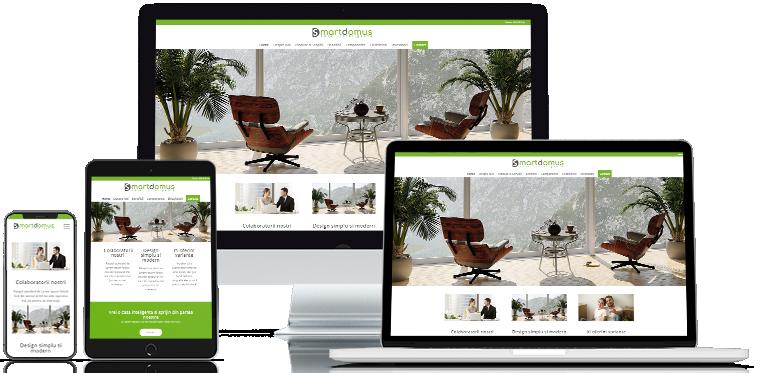 Realizare site web Smart Domus