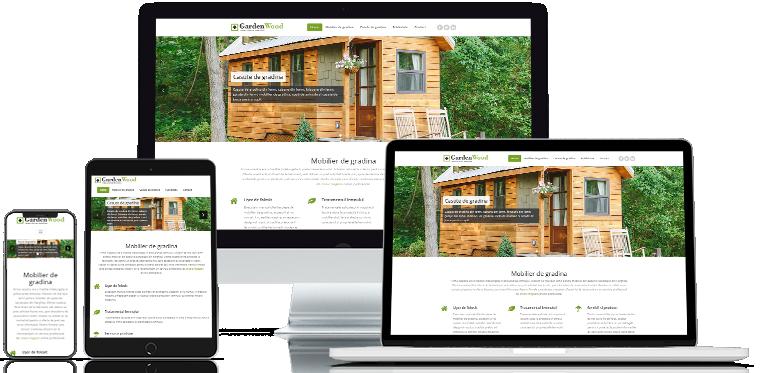 Webdesign Garden Wood