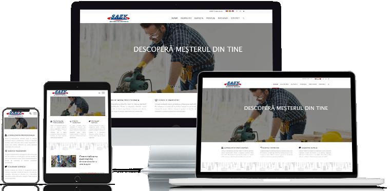 Web design Sazy