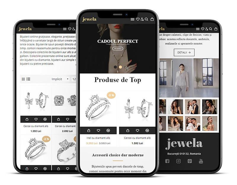 Sablon Magazin Online Jewela